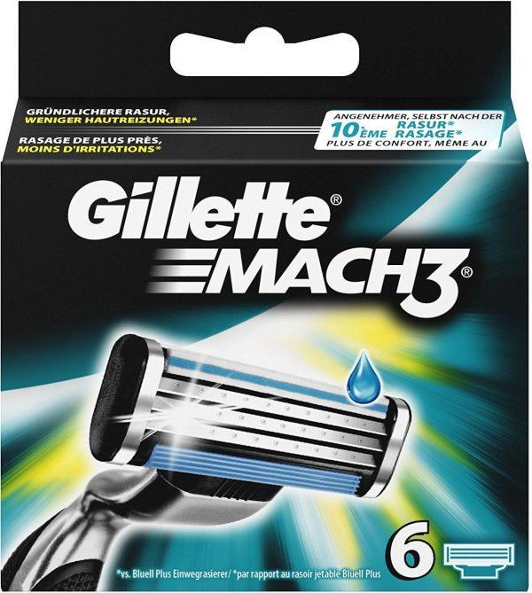 Gillette Mach3 skutimosi peiliukai
