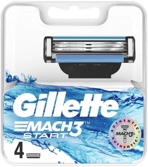 Gillette Mach3 Start skutimosi peiliukai