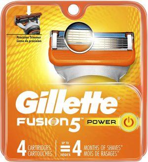 Gillette Fusion Power peiliukai