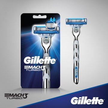 Gillette Mach3 Turbo Skutimosi peiliukai