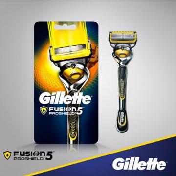 Gillette Fusion ProShield Skutimosi peiliukai
