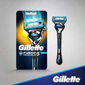 Gillette Fusion ProShield Chill skustuvas
