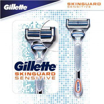 Gillette SkinGuard Sensitive Skutimosi peiliukai