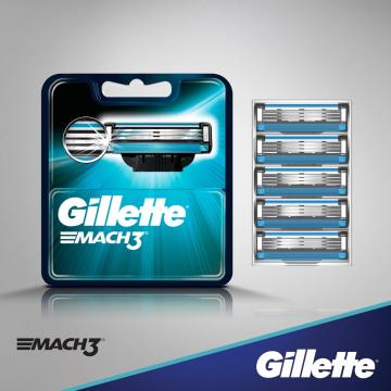 Gillette Mach3 peiliukai