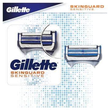 Gillette Skinguard peiliukai